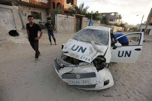 Tras atacar escuela de la ONU, Israel da tregua de 4 horas en Gaza