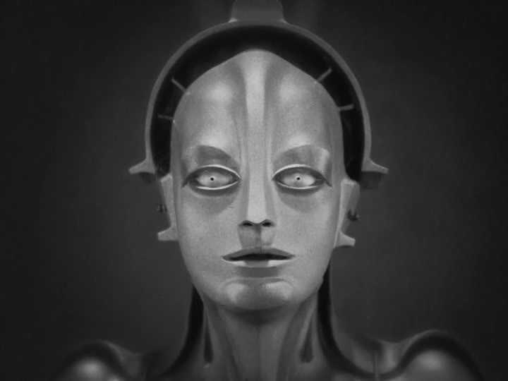 Fotograma de la película Metrópolis de Fritz Lang