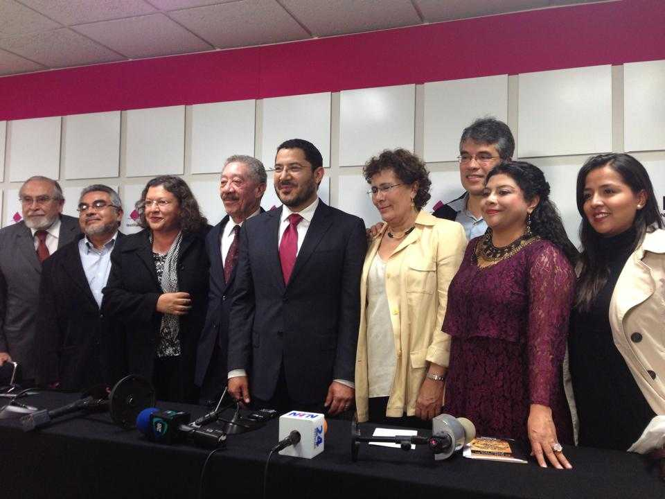 Discurso de Martí Batres al recibir Morena registro como partido político