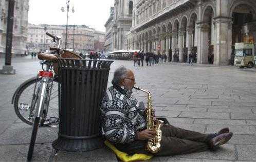 Crisis en Italia duplicó el número de pobres en 2013