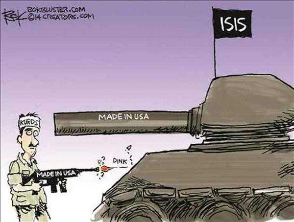 Países europeos proporcionaron armas al Estado Islámico bajo aprobación de OTAN