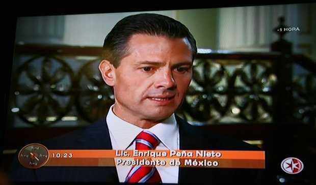 """Peña Nieto vuelve a salir en otro infomercial del programa """"Hoy"""""""