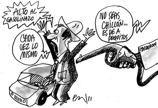Otro gasolinazo, Premium costará 14 pesos