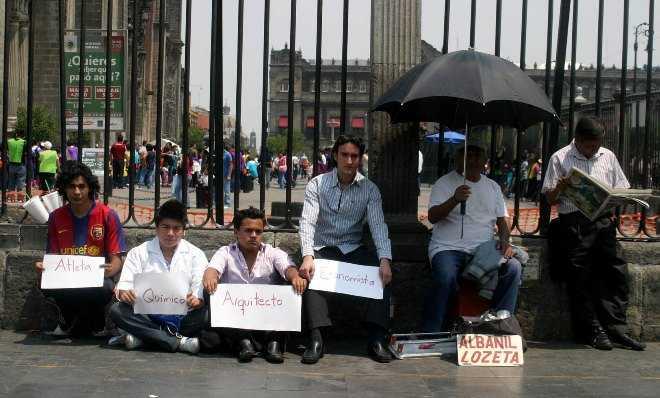 En julio se elevó el número de desempleados en México, el peor del sexenio de Peña