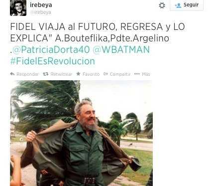 Miles de mensajes de felicitación a Fidel Castro por cumpleaños