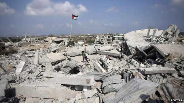 Gaza: Se eleva a 2 mil la cifra de muertos por ofensiva israelí