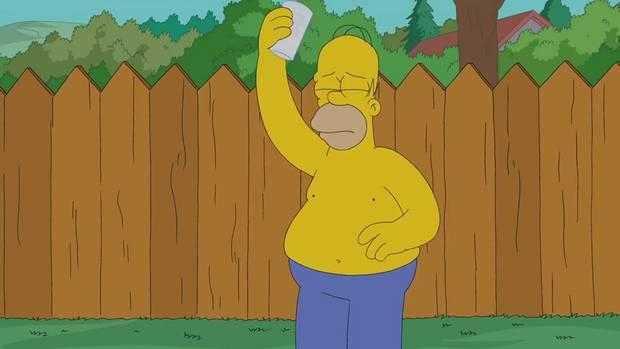 Video: Homero Simpson se une al #IceBucketChallenge