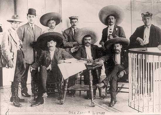 Emiliano Zapata escribe al presidente Woodrow Wilson