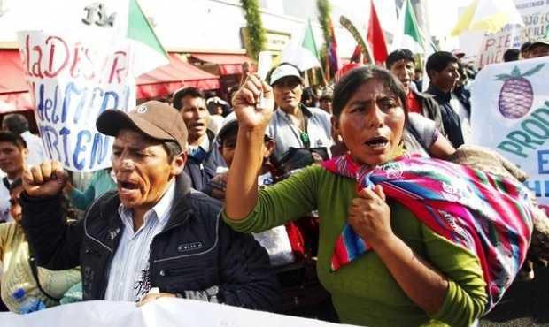 Defensores del territorio resisten entre la criminalización y el despojo en AL