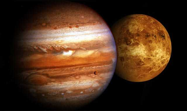Venus y Júpiter se alinearán en la madrugada del lunes
