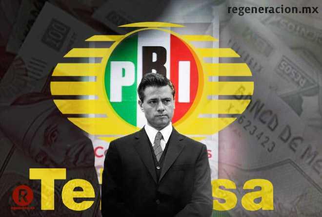 En este año, Peña ha destinado más de 9 mdp a Televisa en publicidad