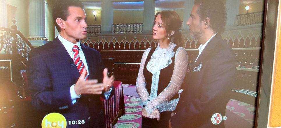 Peña Nieto un personaje más de Televisa (video)