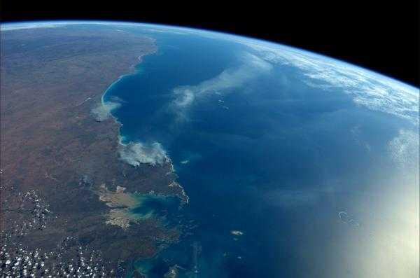 Hermosas imágenes de la tierra capturadas desde la Estación Espacial
