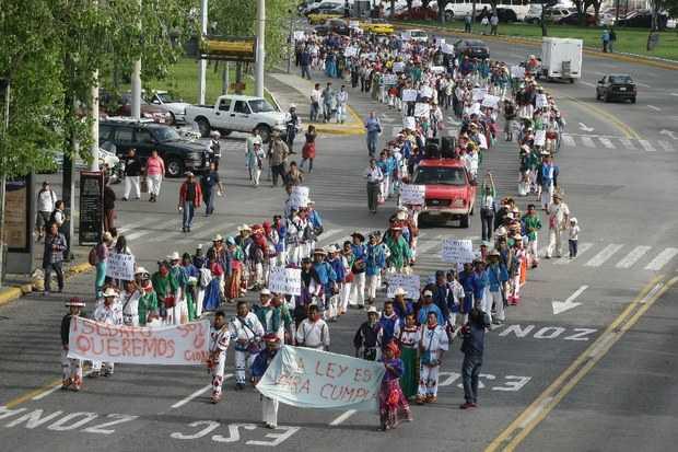 Wixárikas del norte de Jalisco exigen restitución de 10 mil hectáreas