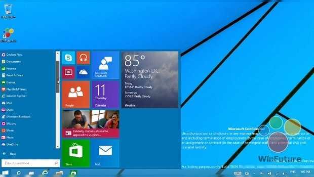 Filtran video que muestra las características del Windows 9