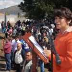 'No me preocupa a quién me pongan enfrente': Delfina Gómez sobre JVM