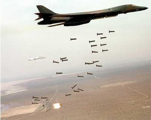 Para bombardear, no hace falta conocer la geografía: Estados Unidos