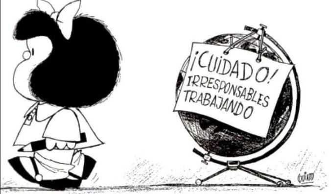 Mafalda, la mítica niña rebelde e incisiva cumple 50 años