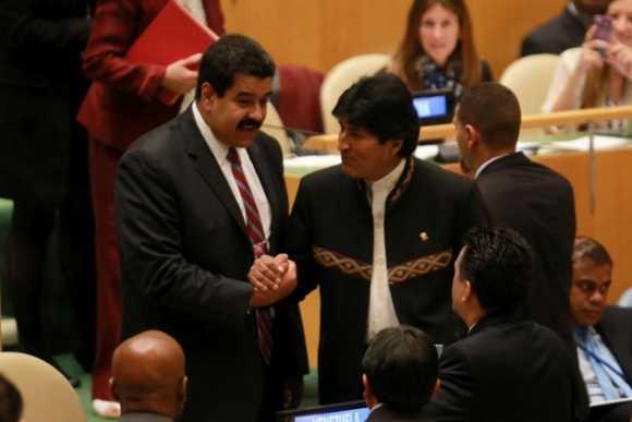 Los poderosos no hacen otra cosa que agredir al planeta: Maduro