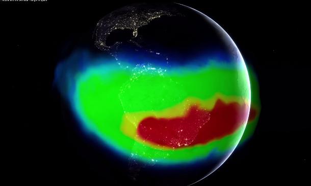 """Video: Captan el """"triángulo de las Bermudas"""" desde el espacio"""