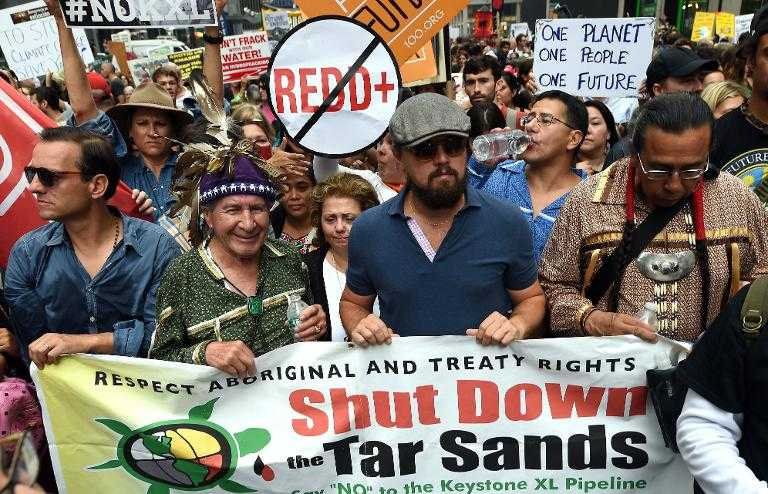 Miles marchan en el mundo contra el cambio climático