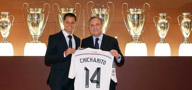 """Llegada del """"Chicharito"""" al Real Madrid a cambio de Pemex: ESPN"""