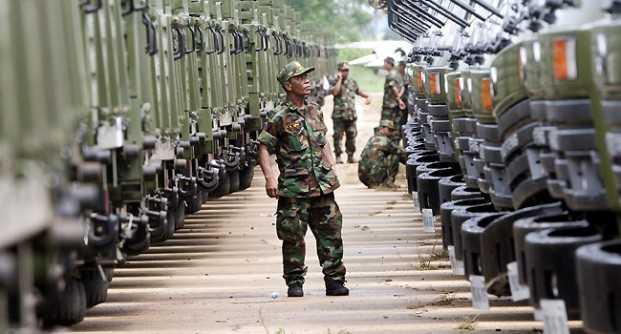 Si quieres paz, prepárate para la guerra: general chino