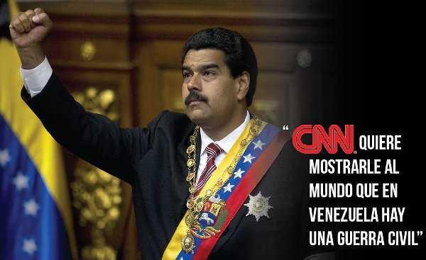 SOS, CNN ¿Tensión en Venezuela?