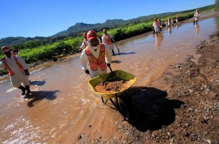Minera de Grupo México eleva sus ganancias 60%  pero sigue sin remediar daños