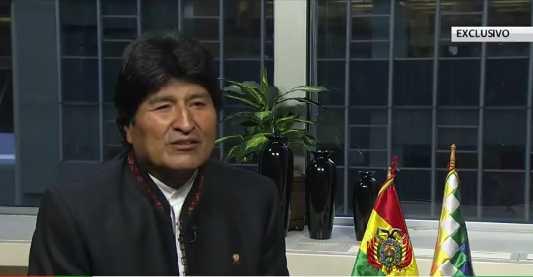 Los pueblos no deben ser gobernados por banqueros y transnacionales: Evo Morales