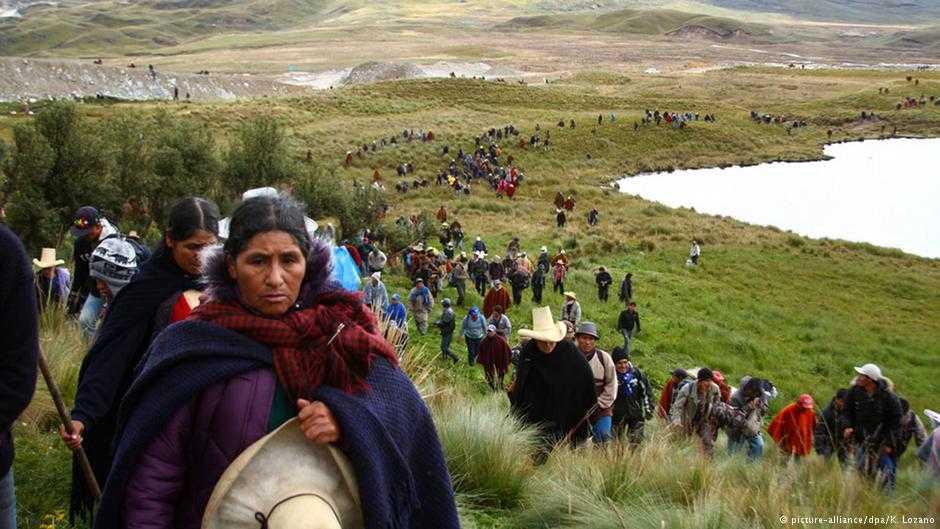 Minería en Perú, ¿mal augurio para indígenas y campesinos ?