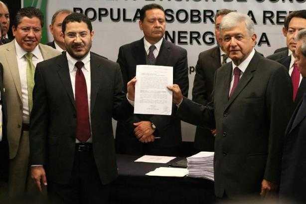 Suprema Corte admite solicitud de Morena para consulta ciudadana