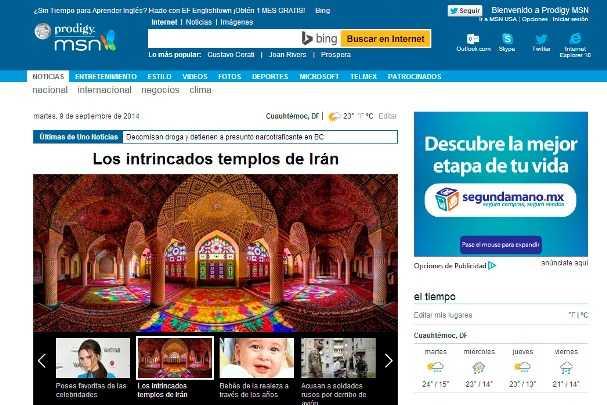 El portal MSN se renueva