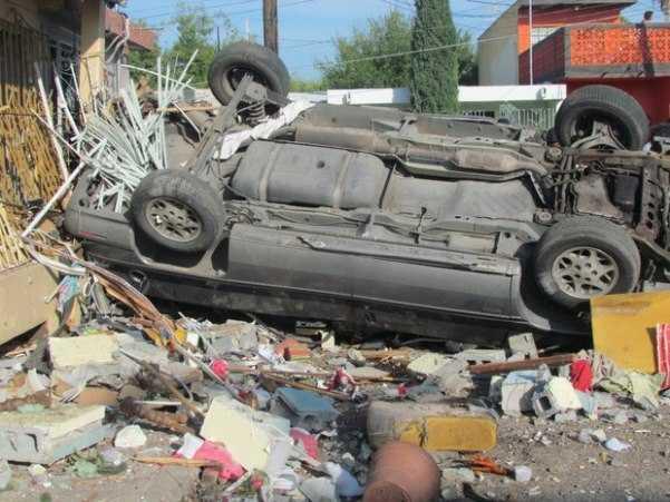 Explosión en Nuevo Laredo deja dos muertos
