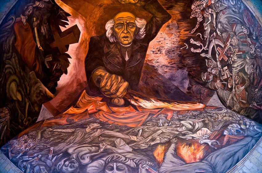 El Gran Muralista Jose Clemente Orozco Muere El 7 De Septiembre De