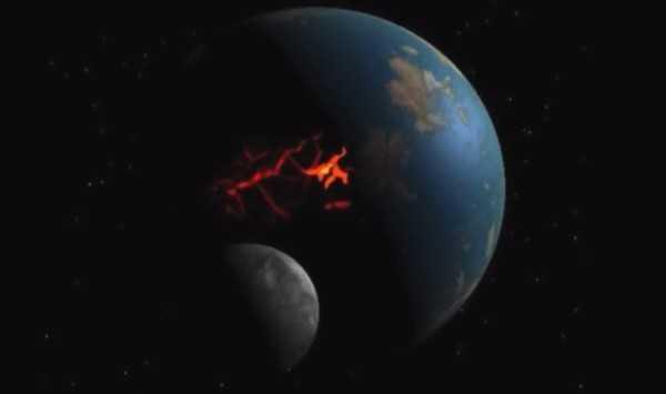 La Luna se formó por impacto que casi pulveriza la Tierra