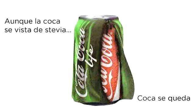 Radiografía de Coca Cola Life