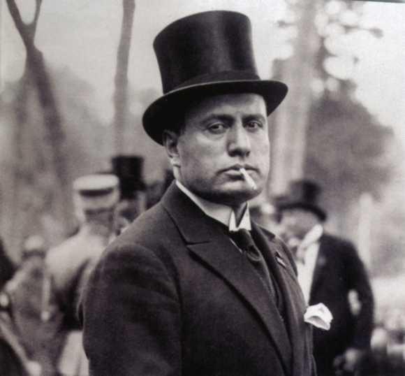 Benito Mussolini fue actor en Hollywood