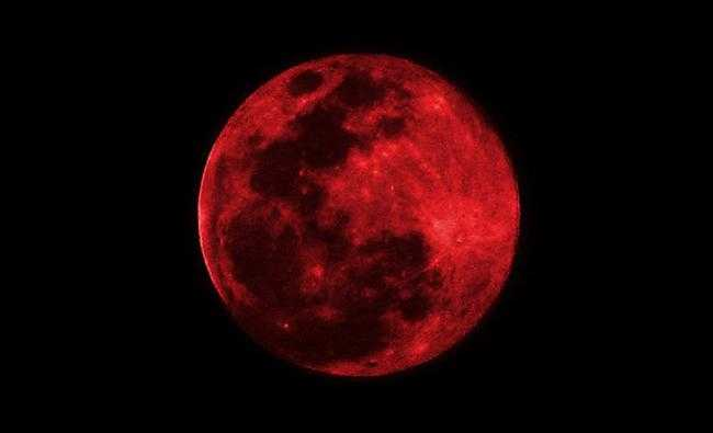 Super Luna Azul de Sangre mirala aquí  en directo (VIDEO)