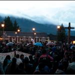 Chiapas: indígenas movilizados por Ayotzinapa