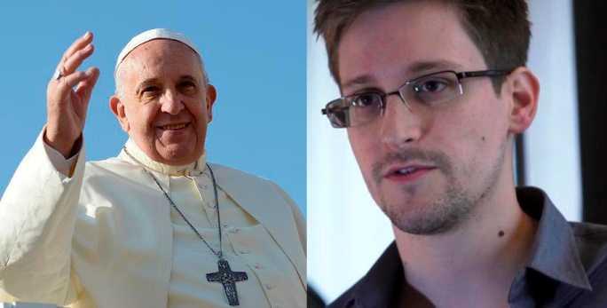 Snowden y el papa Francisco, citados para el Nobel de la Paz