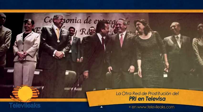 La otra red de prostitución del PRI en Televisa
