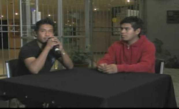 Normalistas de Ayotzinapa emiten comunicado a través de TV UNAM