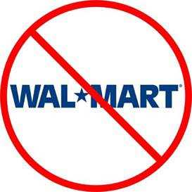 No a Wal Mart