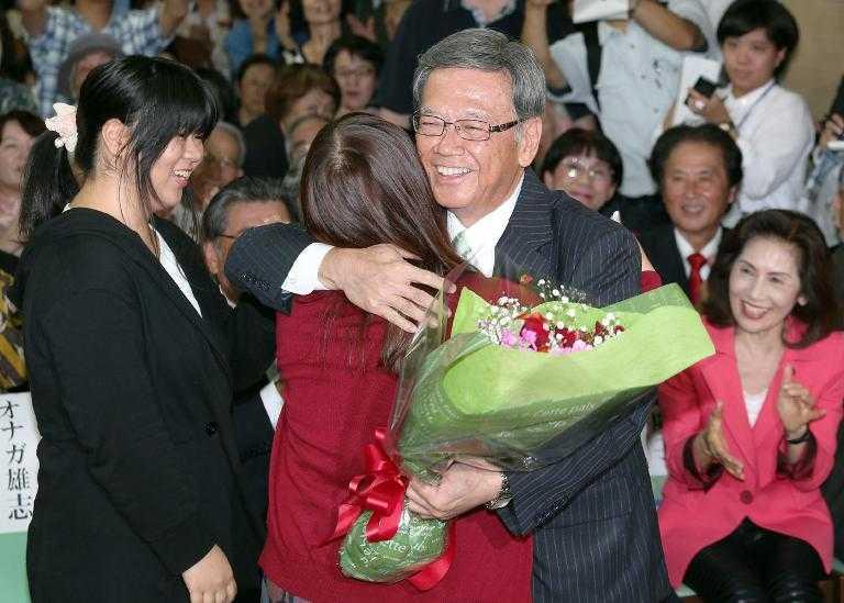 Japón: gana gobernatura de Okinawa un opositor a Estados Unidos