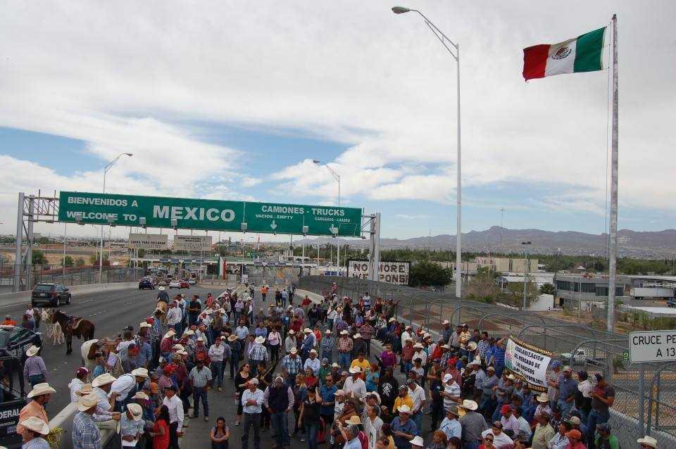 Exigen seguridad para barzonistas en Chihuahua