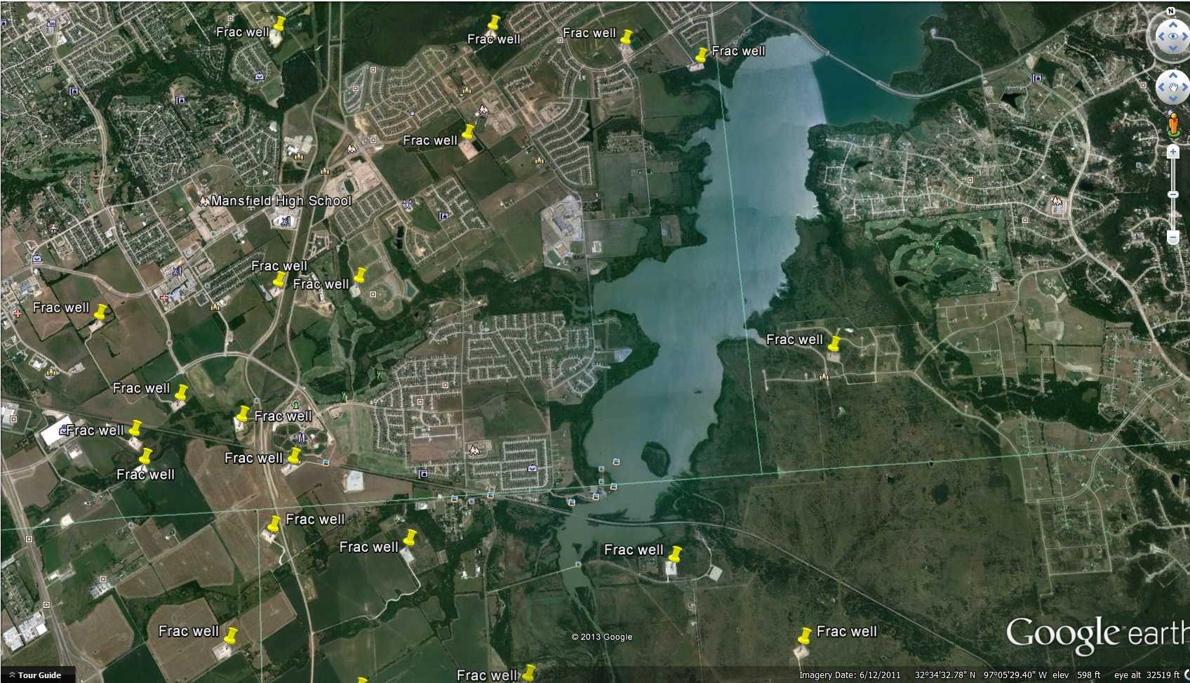 Químicos usados en fracking invaden acuíferos en Texas