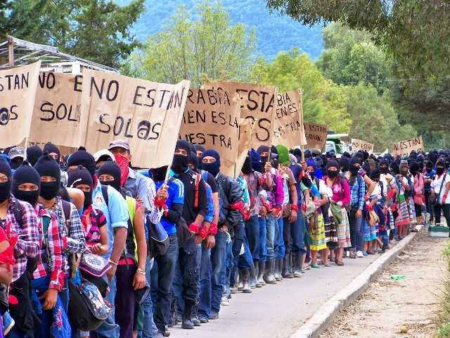 Los zapatistas y Ayotzinapa