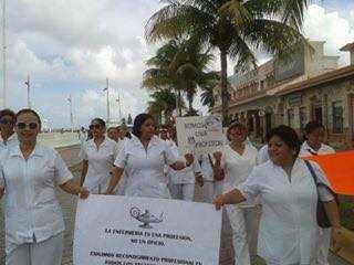 Enfermeras organizan movilización nacional el 6 de enero