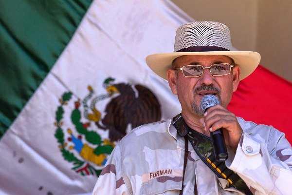 Hipólito Mora llama a despertar y rebelarse  (VIDEO)